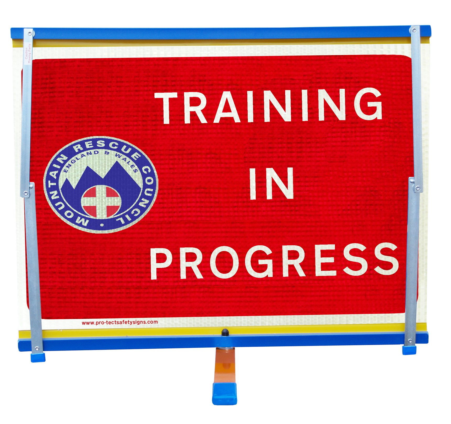 sign caution training in progress stock photo getty images