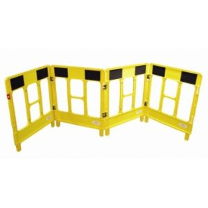 4-Gate Workgate - Yellow & Black