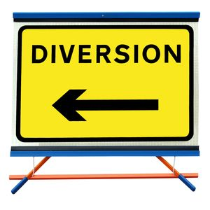 F1 - Diversion with Movable Arrow