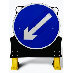 750mm Movable Directional Arrow X-Sign