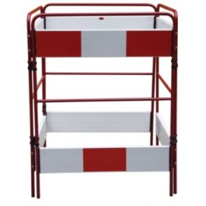 4 Gate Red White Gate Barrier