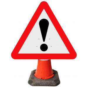 Triangle Cone Sign - Warning Other Danger ! - 562