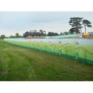 Site Fencing Mesh Banner 1.8m x 3.4m