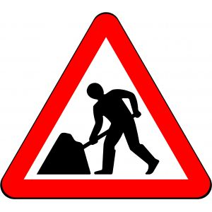 750mm Road Works (Men at Work) - 7001