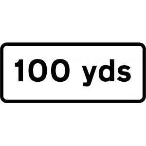 Supplementary Plate - 100 Yards