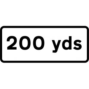 Supplementary Plate - 200 Yards