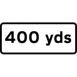Supplementary Plate - 400 Yards