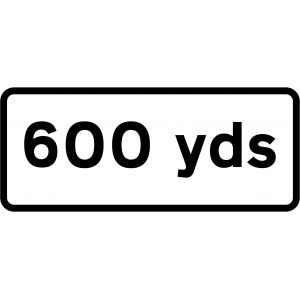 Supplementary Plate - 600 Yards