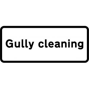 Supplementary Plate - Gully cleaning