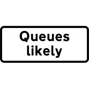 Supplementary Plate - Queues likely