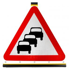 Triangle - Traffic Queues Likely on Road Ahead - 584