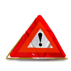 Bike Sight - Motorcycle Warning Triangle