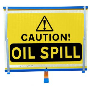 F2 - Caution Oil Spill