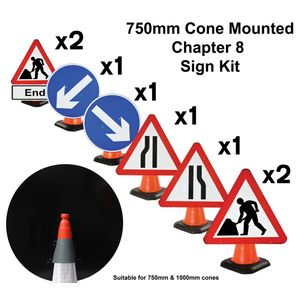 Chapter 8 Cone Sign Kit