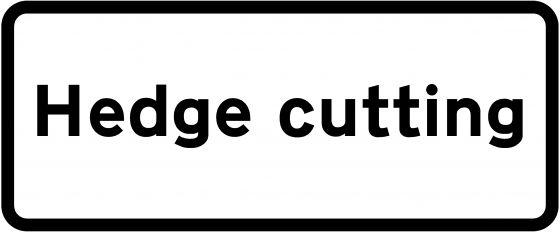 Supplementary Plate - Hedge Cutting