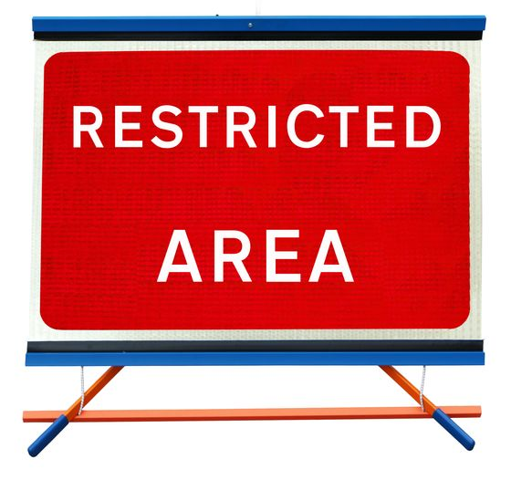 F1 - Restricted Area