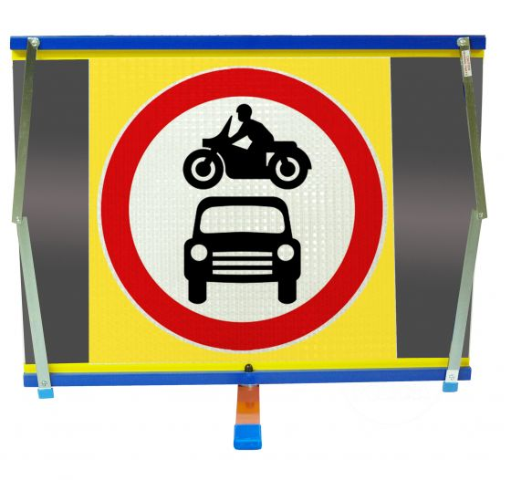 F2 -Motor Vehicles Prohibited