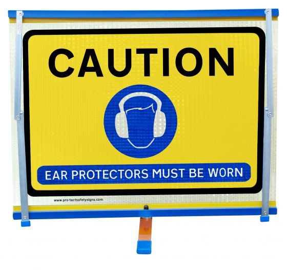 F2 - Caution Ear Protectors Must Be Worn
