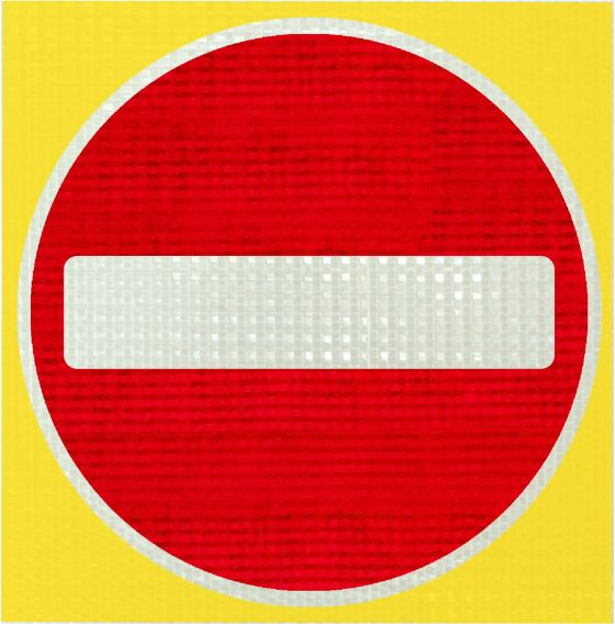 No Entry Pop-on Panel
