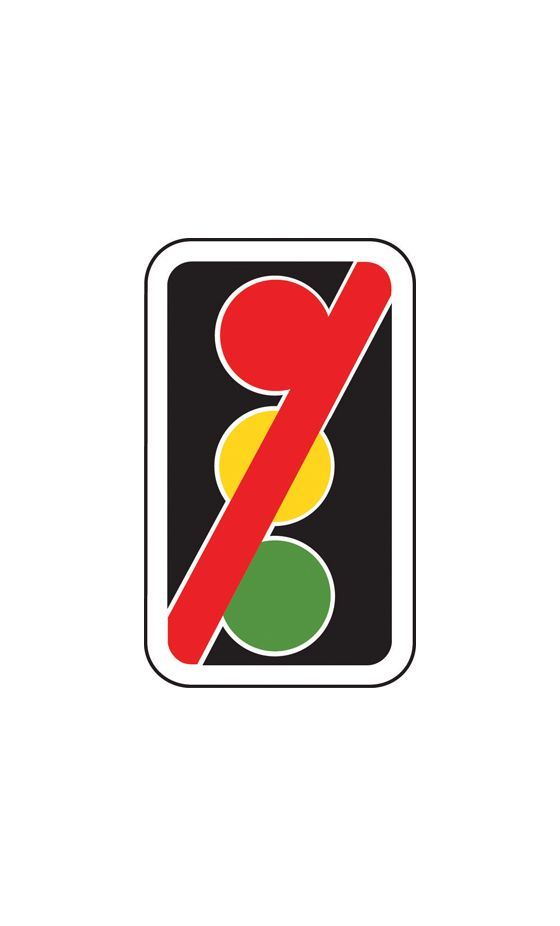 420x700mm Traffic Signals Not in Use - 7019